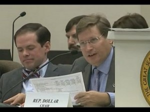"""Budget writer Rep. Nelson Dollar (R-Wake) called the overall proposed House budget, """"responsible."""""""