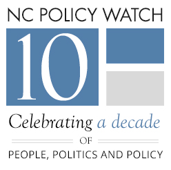 NC Policy Watch 10th Anniversary Party