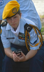 McGarry served in the ROTC in high school.