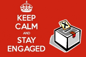 Keep calm, stay engaged