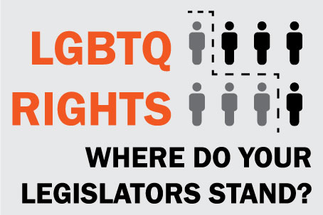 LGBTQ RIGHTS where do your legislators stand