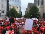 Teachers demand policy changes, cheer Cooper at unprecedented education rally