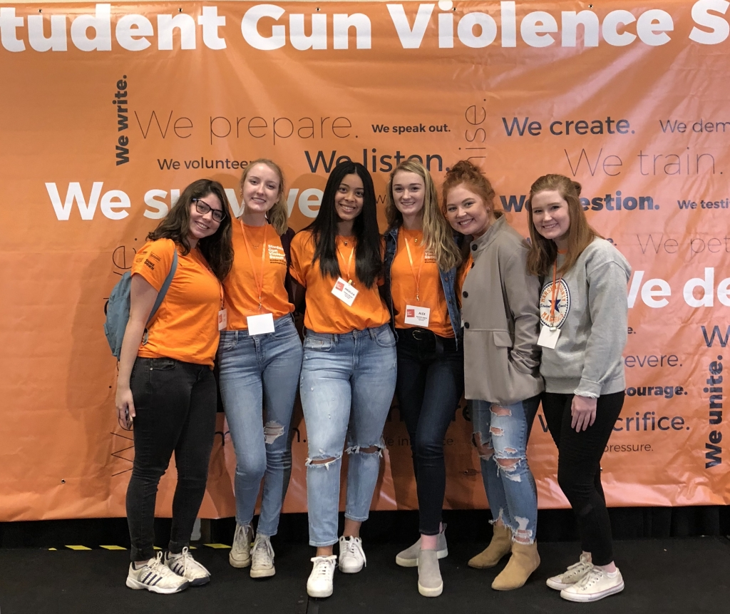 School Students Take To Streets To Protest Against Gun: After School Shootings, North Carolina Students Take A