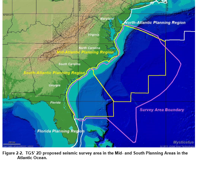 Trump administration OKs seismic testing; environmentalists say the battle for the Atlantic is on | NC Policy Watch