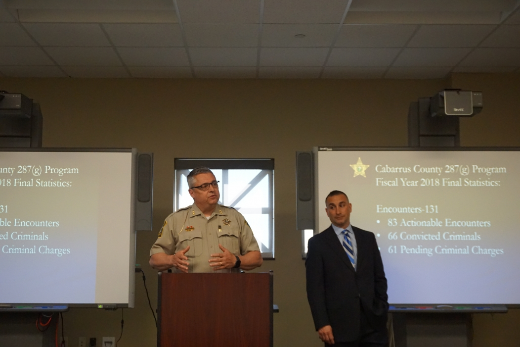 Amid 287(g) controversy, North Carolina sheriff pitches the