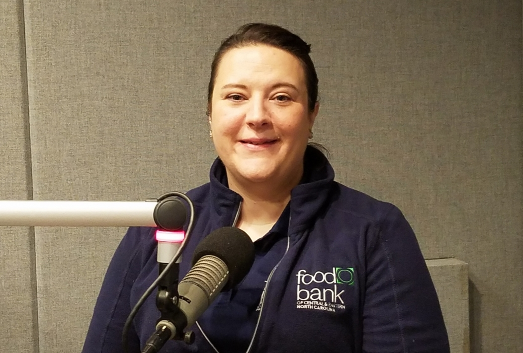 Jennifer Caslin of the Food Bank of Central and Eastern North Carolina discusses food insecurity, storm recovery, and federal cuts to SNAP benefits. | NC Policy Watch