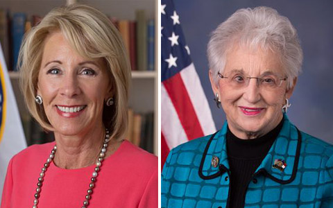 U.S. House votes to torpedo DeVos student loan rule over Virginia Foxx's objections